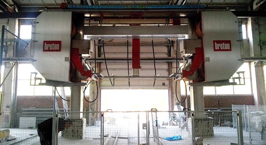 Оборудование для производства и полировки гранита натурального